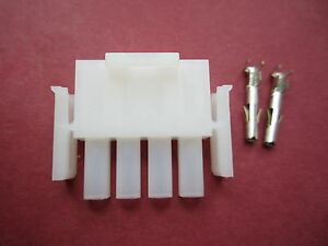 Ten-Tec 4-PIN 12v DC Power Plug fits Omni D V VI and Others