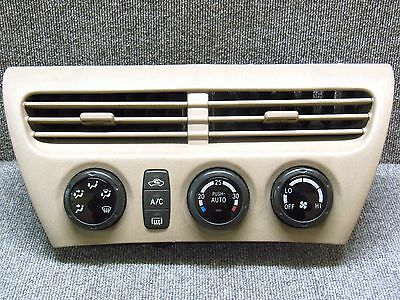 1998 2003 Toyota Vista V50 AC Heater Climate Control  with Airvent Frame JDM OEM