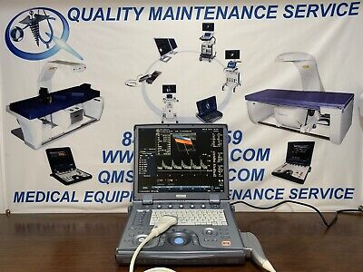 Ge Logiq E Ultrasound Machine With 1 Transducer 12l-rs Linear