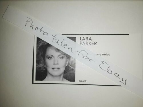 Lara Parker Dark Shadows Original 1980s actors casting ad