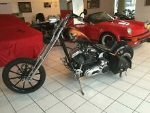 Harley-Davidson Custom Bike Highneck Chopper Einmalig