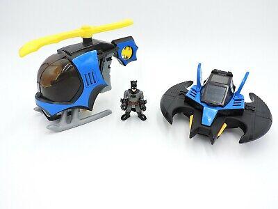 IMAGINEXT Batman BatCopter & BatWing vehicle DC Super Friends LOT 2 helicopter