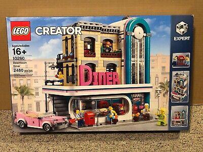 LEGO CREATOR **10260 DOWNTOWN DINER NEW** 2480 PIECES CITY MODULAR EXPERT HTF