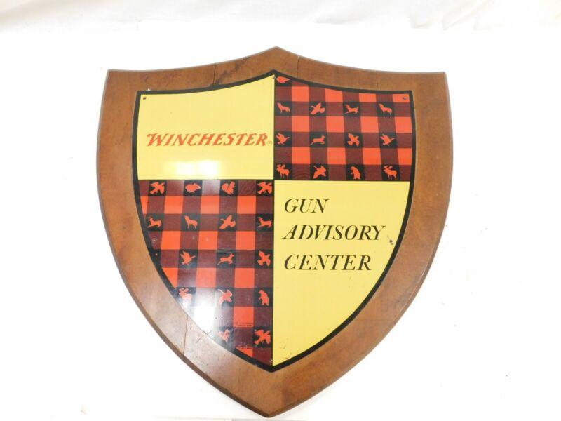 WINCHESTER GUN ADVISORY CENTER PLAQUE