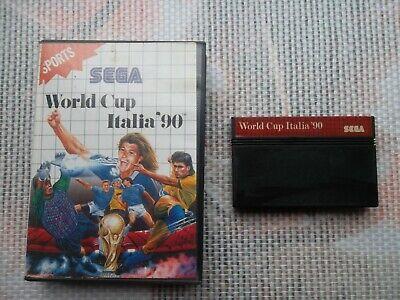 Jeu Master system World Cup italia 90 + boite PAL retrogaming SEGA original*
