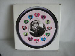 Centric I Love Lucy Wall Clock Lucy Hearts Design Lucille Ball