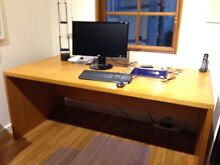 Large timber desk Pagewood Botany Bay Area Preview