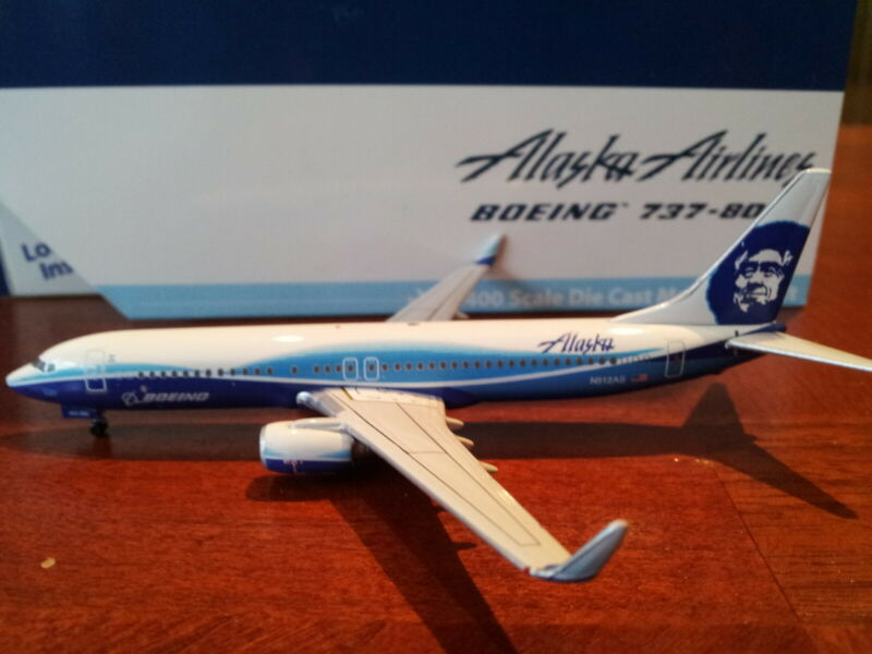 Gemini Jets Alaska Airlines B 737-890WL 1:400 GJASA893 Dreamliner Colors N512AS