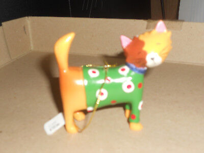 Solid Cat Ornament Christmas ORNAMENT  New