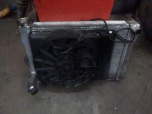 Fox body aluminum rad and electric fan