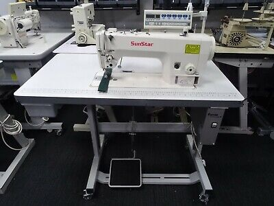 INDUSTRIAL HEAVY DUTY AUTOMATIC SEWING MACHINE NEEDLE FEED ENERGY SAVING MOTOR