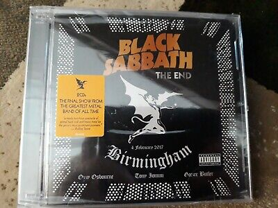 Black Sabbath The End The Final Show Music CD New/Sealed