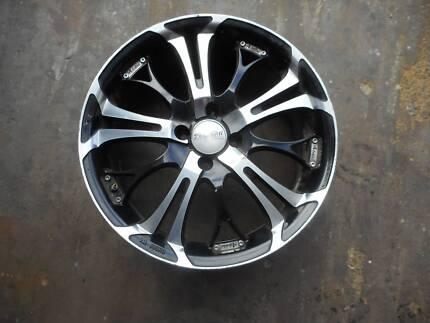 """BMW E30  3-Series 4X100 17"""" Advanti Wheels Set of 4"""