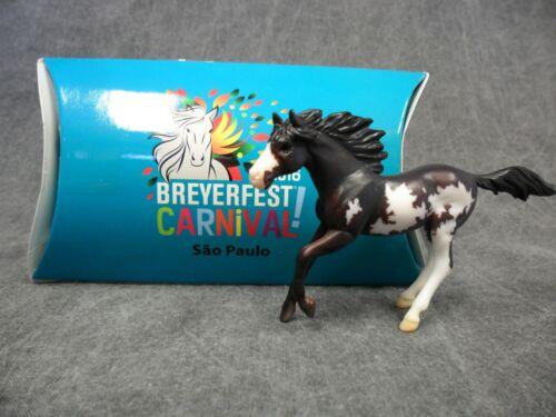 Breyer * Sao Paulo * 711235 Breyerfest Pinto Single Day Stablemate Model Horse