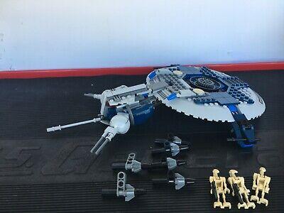Lego Star Wars The Clone Wars Droid Gunship (7678) 100% pieces all minifigs