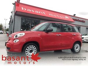 2015 Fiat 500l Low Kms, Fuel Efficient, Power Windows/Locks!!
