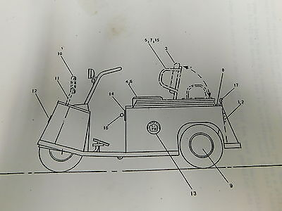 Taylor Dunn Electric Personnel Carrier Service Parts Repair Manual E1-2129