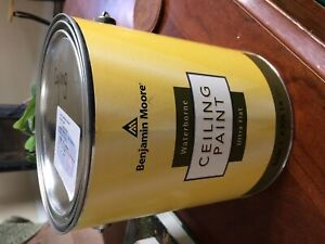 Ben Moore waterborne ceiling paint! Simply white