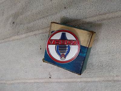 1963 1964 1965 1966 shelby cobra mustang gt350 NOS badge ( emblem ) fender (Shelby Nose)