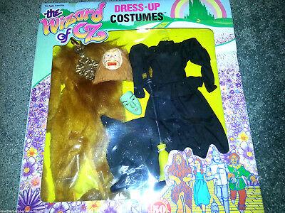 Zauberer von oz 1988 Verkleidung Kostüm Barbie Puppe Outfits Löwe Böse Hexe Vtg