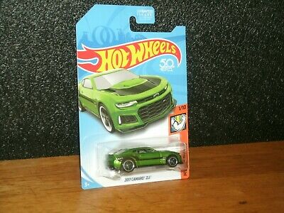 2018 Hot Wheels Muscle Mania Super Treasure Hunt 2017 Chevy Camaro ZL1/Protector