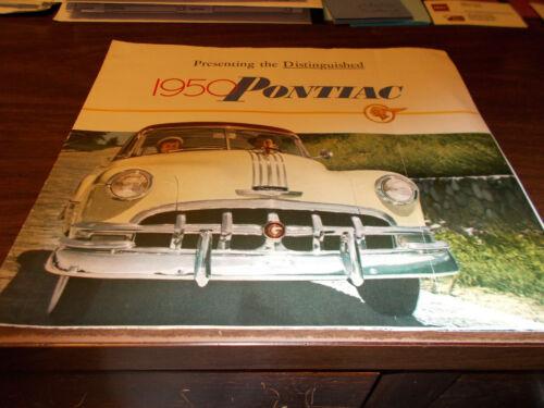 1950 Pontiac Sales Brochure