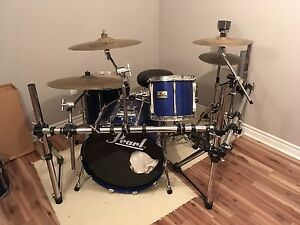 1980s Pearl Masters Custom 5pc kit + extras