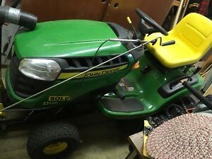 """""""Reduced"""" Deere D125 Snowblower/Lawn Tractor"""