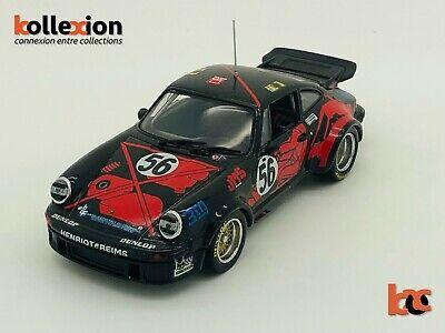 UNIVERSAL HOBBIES 2301 PORSCHE 934 Turbo n°56 J.M.S Racing Le Mans 1977 1.43