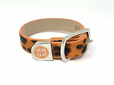 RUSTIC CUFF CALFSKIN~ANIMAL PRINT EXCLUSIVE KACY BUCKLE BRACELET SOLD OUT