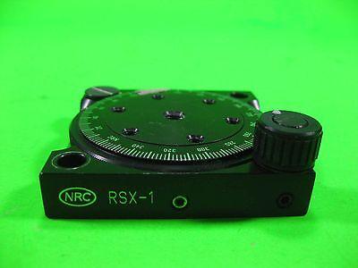 Newport Nrc Rotation Stage Polarizer -- Rsx-1 -- Used