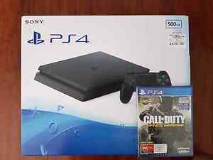 Brand New Playstation 4 PS4 500GB Slim + COD:Infinite Warfare PS4 Glenfield Campbelltown Area Preview