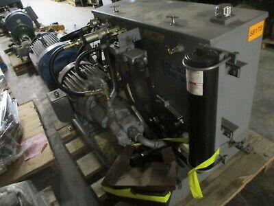 Nott Company Hydraulic Power Unit 25hp 230460v 6030a 3ph 94-gallon Tank Used