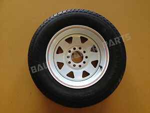 SUNRAYSIA-13-MULTI-FIT-HOLDEN-HT-FORD-RIM-WITH-155-LT-TYRE-Trailer-Parts