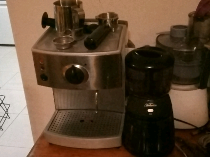 Sunbeam cafe series precision coffee grinder great condition sunbeam coffee grinder and espresso machine fandeluxe Gallery