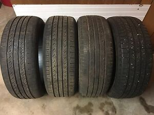235/55R18 All season tires. $80