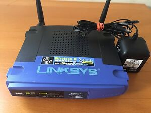 Used Linksys router
