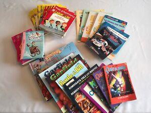 Plusieurs ensembles de livres, tous les âges, pas cher!
