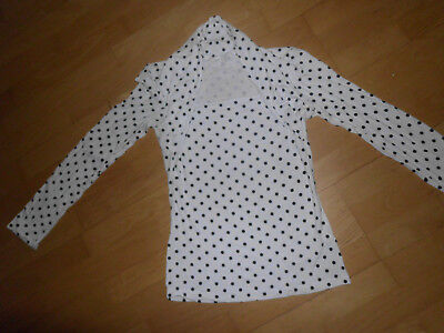 Vintage Damen Oberteil Swinging Sixties T-Shirt Langarm 60er Jahre Style Gr. (Kostüm Sixties)