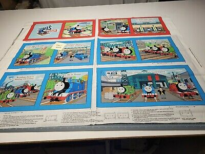 Go Go Thomas & Friends Train Book Panel 35x42 VIP Blocks BOLT END