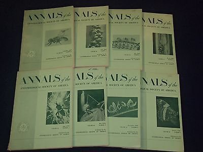1969-1971 ANNALS OF THE ENTOMOLOGICAL SOCIETY OF AMERICA LOT OF 15 - O (Annals Of The Entomological Society Of America)