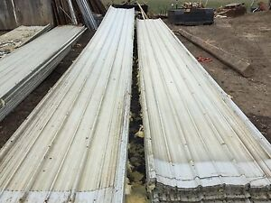 "Used 30' 8"" Roofing Steel"