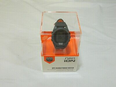 New Bushnell Golf Neo iON - Gray and Orange - GPS Rangefinder Watch Golf (Bushnell Neo Gps Watch)