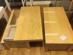 Modern low bedside tables/ coffee table