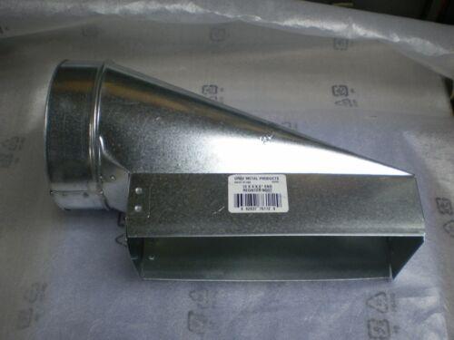 HVAC Duct 6 x 4 x 10 Pencil Boot