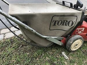 Toro lawnmower bag