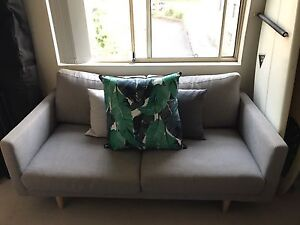 2.5 Seater Sofa with Scatter Cushions Cronulla Sutherland Area Preview