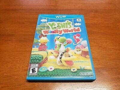 Yoshi's Woolly World (Nintendo Wii U, 2015) CIB Complete TESTED WiiU