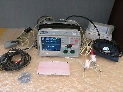 Zoll E-series 12 Lead Ecg Nibp Masimo Spo2 Etco2 Pacing New Battery 18007