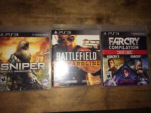 3 Jeux PS3